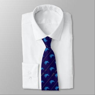 Cravate Buffalo fonctionnant avec des flèches bleues