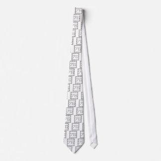 Cravate chaîne