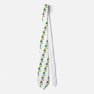 Cravate Chien de Boston Terrier du jour de St Patrick