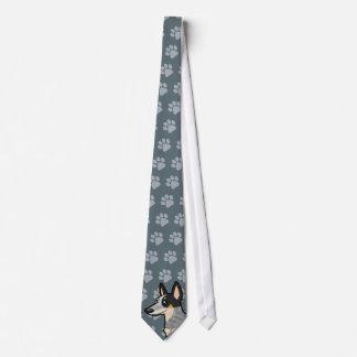 Cravate Chien/Kelpie australiens de bétail de bande