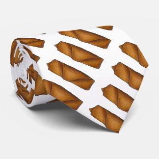 Cravate chinoise de croquette chinoise de Rolls de