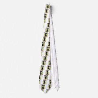 Cravate Chiot de griffon de pointage à poils durs