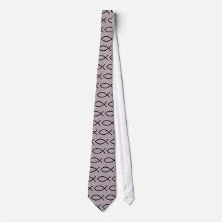 Cravate chrétienne de symbole de poissons ! !