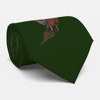 """Cravate classique de """"faisan de style en vol"""""""
