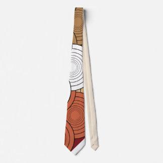 cravate colorée géométrique