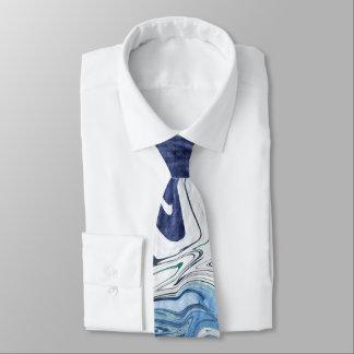 Cravate Conception moderne d'abrégé sur bleu