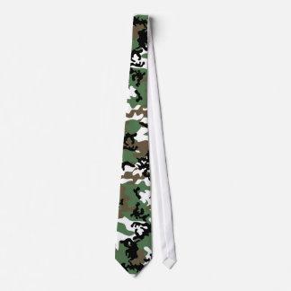 Cravate concrète de Camo de jungle