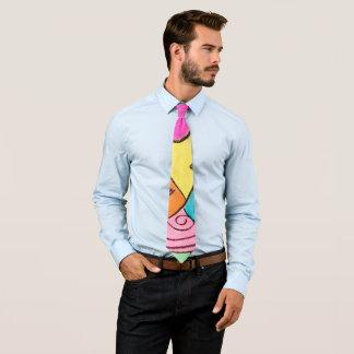 Cravate Couleur artistique de Mulit de cool d'amusement