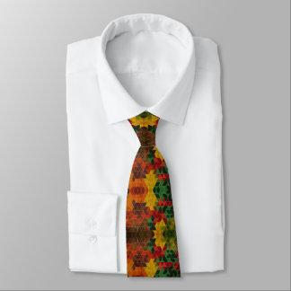 Cravate couleurs et Losanges
