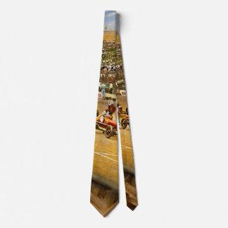 Cravate Course de voiture - la vie dans la ruelle rapide