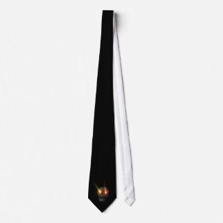 Cravate Cr�ne aux yeux fluo -