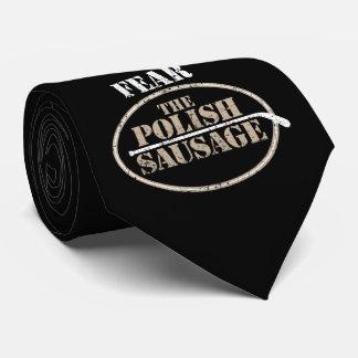 Cravate Craignez la saucisse polonaise (l'hockey)