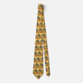 Cravate Crâne par Vincent van Gogh, impressionisme vintage