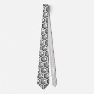 Cravate D20 allumé