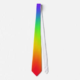 Cravate d'arc-en-ciel