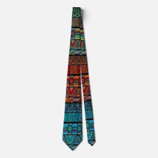 Cravate d'art d'Aborigina de panneau de Corroboree
