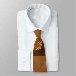 Cravate de Brown de danse de salle de bal