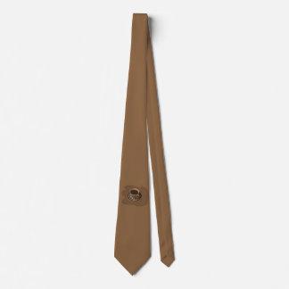 Cravate de café de Brown