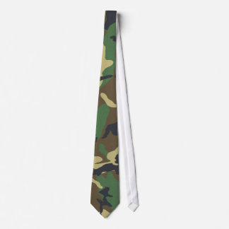 Cravate de camouflage