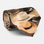 cravate de chapeau de cowboy