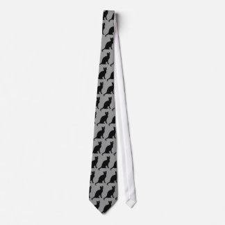 Cravate de chat noir