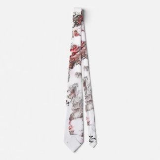 Cravate de chien-loup de fleurs de cerisier