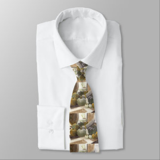 Cravate de citrouilles de Halloween