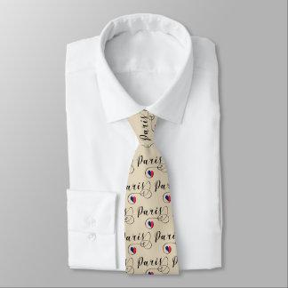 Cravate de coeur de Paris, France