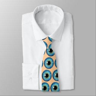Cravate de coutume de cool de globe oculaire