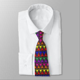 cravate de fileur de personne remuante