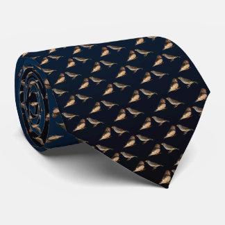 Cravate de frénésie de pinson de zèbre (bleu/noir)