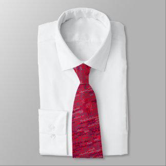 Cravate de FSPR - rouge