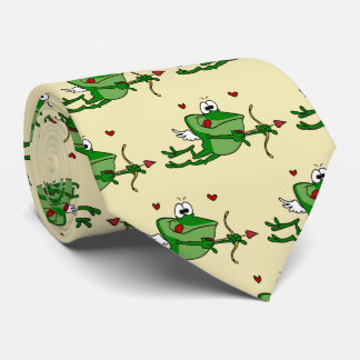 Cravate de grenouille de cupidon pour les hommes