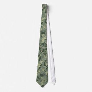 Cravate de gros caractères de camouflage de