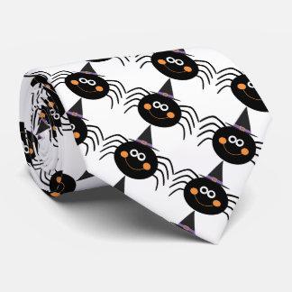 Cravate de Halloween/araignées mignonnes