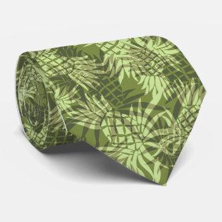 Cravate de Hawaïen de Camo d'ananas