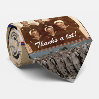 Cravate de jour de vétérans de collage de vétérans