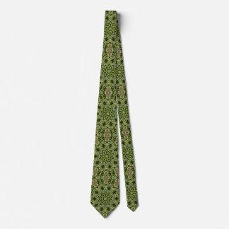Cravate de kaléidoscope d'étoile d'arbre
