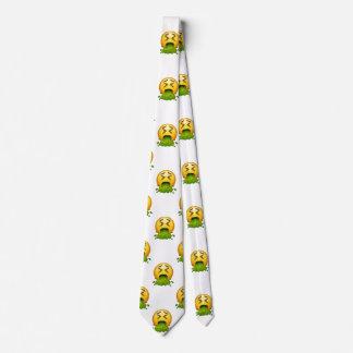 cravate de la cravate des hommes vomissants de