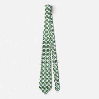 Cravate de logo de cercle d'Encinal