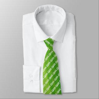 Cravate de logo de GWA