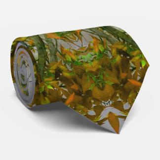 Cravate de mandala de nature