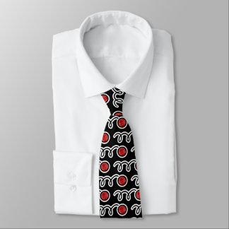 Cravate de motif de boule de Bocce pour des