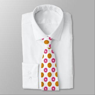 Cravate de motif de pois de biscuit
