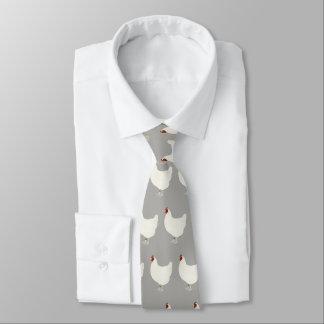 Cravate de motif de poulet