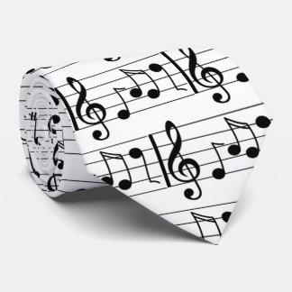 Cravate de note de musique
