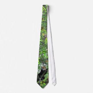 Cravate de panda rouge