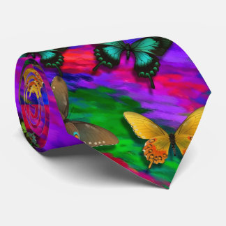 Cravate de papillons