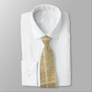 Cravate de Sinaiticus