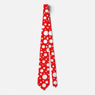 Cravate de taches de champignon
